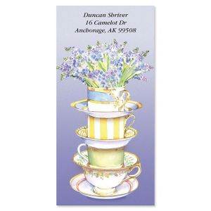 High Tea  Oversized Address Labels