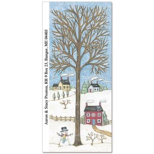Wintry Season Supersized Address Labels