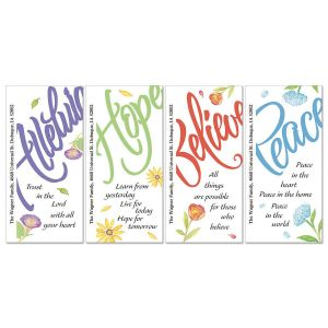 Words of Praise Oversized Address Labels  (4 Designs)