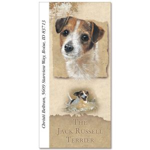 Jack Russell Terrier Oversize Address Labels