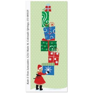 Christmas Packages Supersized Address Labels