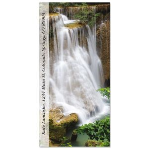 Waterfall Cascade  Oversized Address Labels