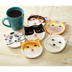 Cat Coasters