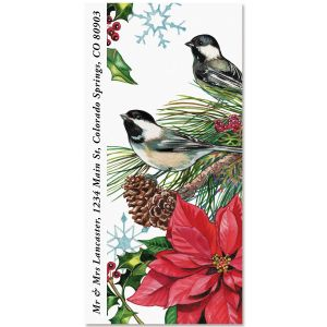 Chickadee Oversized Return Address Labels