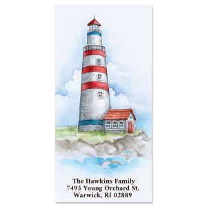 Seaside Lighthouse Oversized Return Address Labels