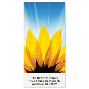 Sunflower Sky Oversized Return Address Labels