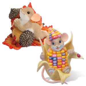 Charming Tails® Autumn Figurines Set