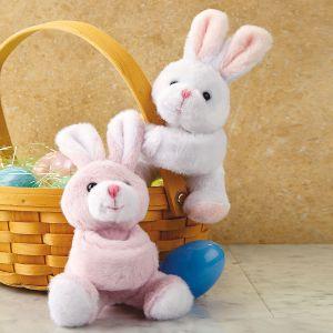 Wrap-Around Plush Bunny