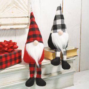 Plush Gnome Shelf Sitters