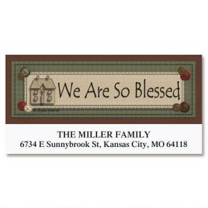 Blessed Deluxe Address Labels