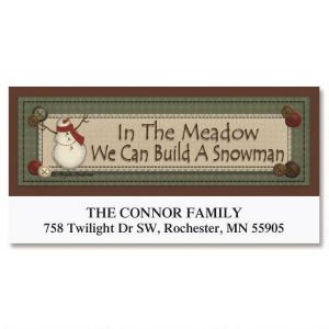 In The Meadow Deluxe Address Labels