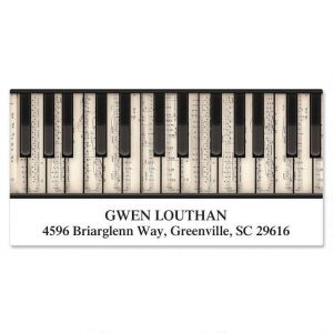 Music  Deluxe Address Labels