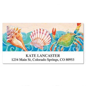 Sand and Sea Deluxe Address Labels