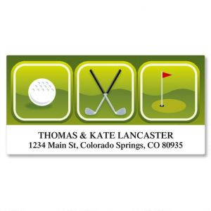 On The Green Deluxe Address Labels