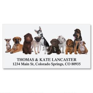 Bow Wow Deluxe Address Labels