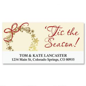 Tis the Season Deluxe Address Labels