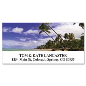 Caribbean Beach Deluxe Address Labels
