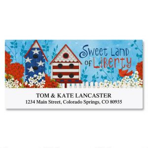 Land of Liberty Deluxe Address Labels