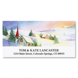 Heavens Dawn Deluxe Return Address Labels