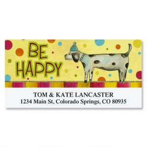 Birthday Dog Deluxe Address Labels