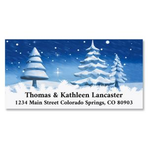 Winter Is Here Deluxe Address Labels