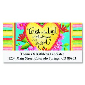 Trust Deluxe Return Address Labels