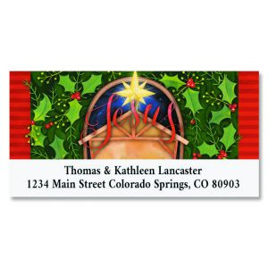 Reason for the Season Deluxe Christmas Address Labels