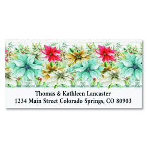 Glad Tidings Deluxe Christmas Address Labels
