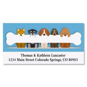 Bone to Pick Deluxe Address Labels