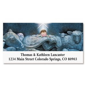 All Is Calm Deluxe Return Address Labels