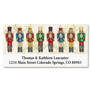 Christmas Past Deluxe Return Address Label