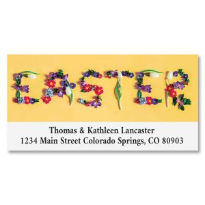 Easter Deluxe Return Address Label