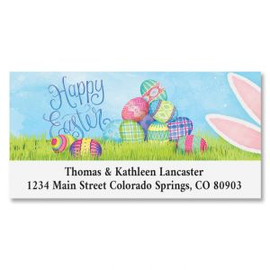 Sneaky Bunny Deluxe Return Address Labels