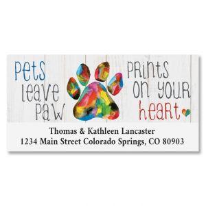 Pet Love Deluxe Return Address Labels
