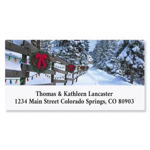 Forest Lane Deluxe Return Address Labels