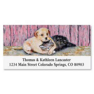 Nap Time Deluxe Return Address Labels