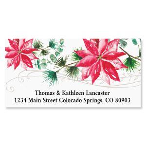 Lovely Christmas Deluxe Return Address Labels