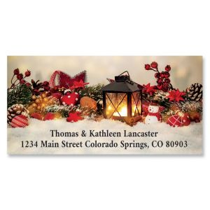 Holiday Cheer Deluxe Return Address Labels