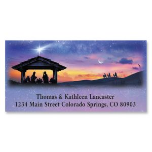 The Star Deluxe Return Address Labels