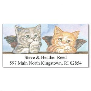 Kitten Angels Deluxe Address Labels