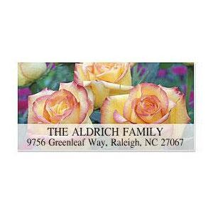 Trio of Roses Deluxe Address Labels
