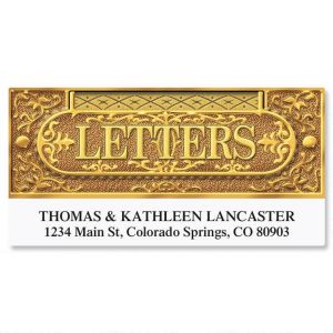 Letter Slot Deluxe Address Labels