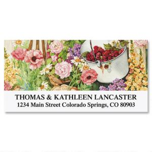 Sandi's Garden Glory Deluxe Address Labels