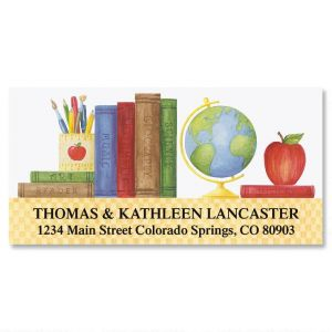Teacher's Desk Deluxe Address Labels