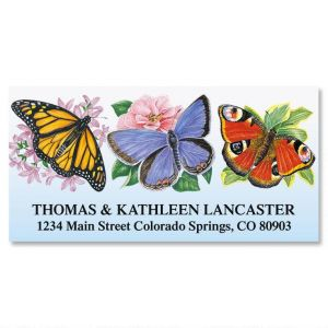 Flutterbys  Deluxe Address Labels
