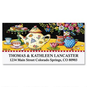 Teatime Treats Deluxe Address Labels