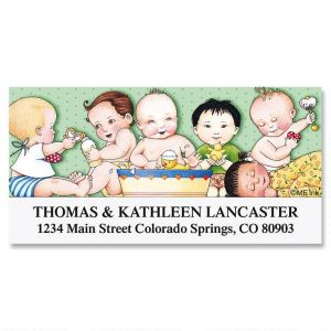 Mary's Lovey Dovey Deluxe Address Labels