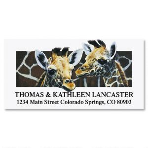 Neck & Neck  Deluxe Address Labels