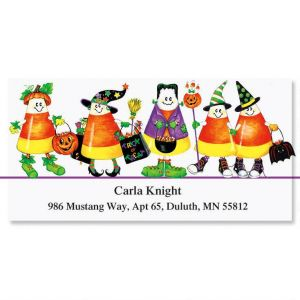 Trick or Treat Deluxe Address Labels