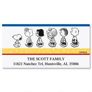 PEANUTS®  Our Family Deluxe Address Labels